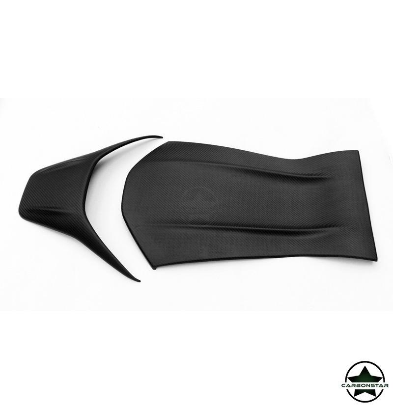 Cstar Matt Carbon Gfk Sitzabdeckung Sitz Cover für...