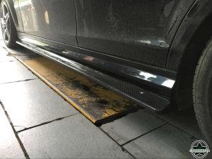 Cstar Carbon Gfk Seitenschweller für Mercedes Benz W204 C204 C63 AMG