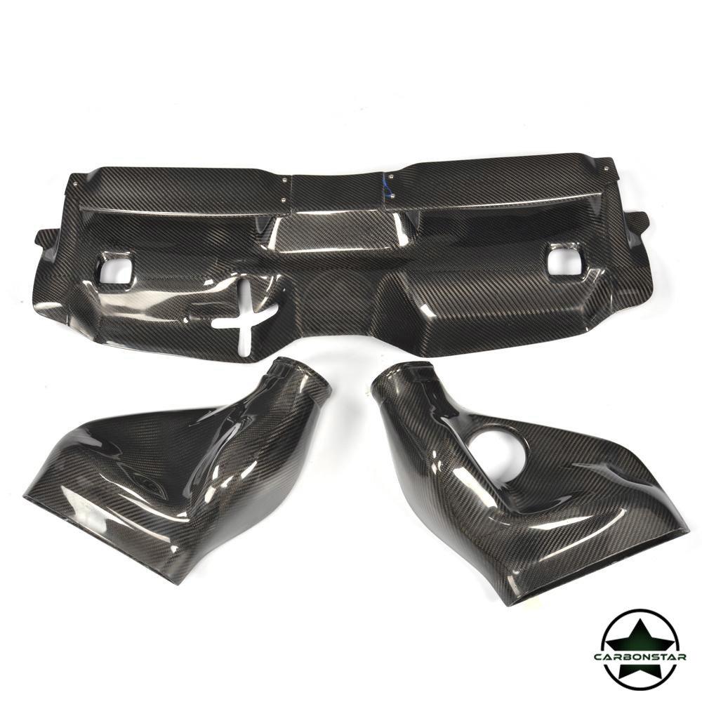Cstar Carbon Gfk Air Intake Lufteinlass Filter Abdeckung für Mercedes Benz W204 C63
