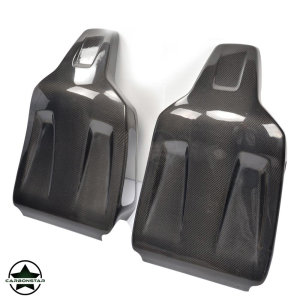 Cstar Carbon Gfk Sitz Cover Sitzschalen 2tlg für Mercedes Benz W204 C63