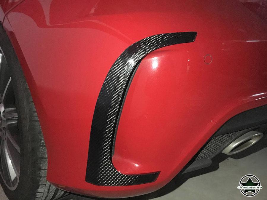 Cstar Carbon Gfk Abdeckung Stoßstange hinten für Mercedes Benz W176 A45 AMG