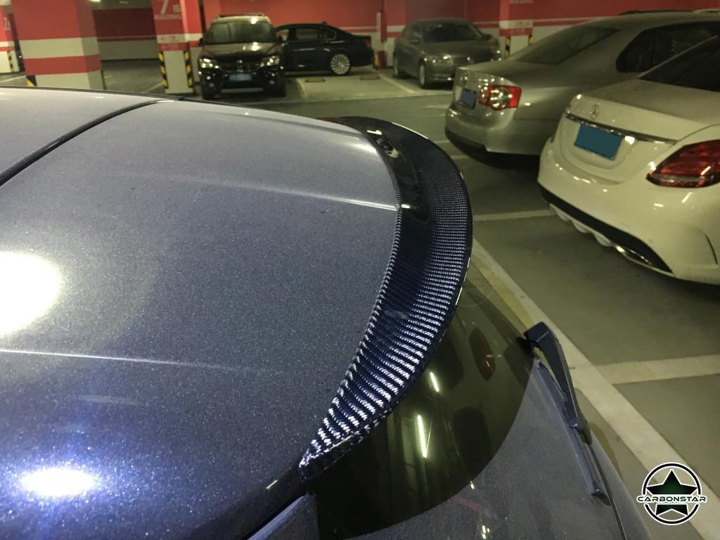 Cstar Carbon Gfk Heckspoiler für Mercedes Benz W176 A45 AMG