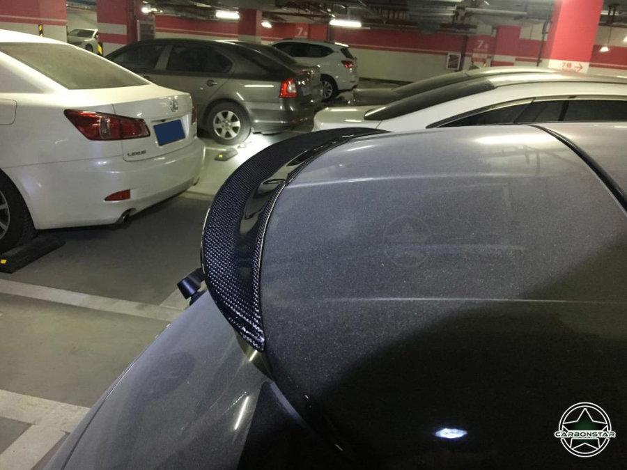 Cstar Carbon Gfk Heckspoiler für Mercedes Benz W176...