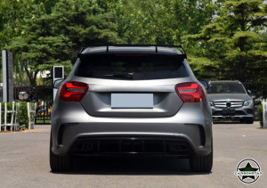 Cstar Carbon Gfk Heckflügel Dachspoiler für Mercedes benz W176 A180 A200 A220 A250 A260 A45 AMG