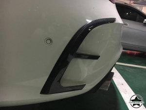 Cstar Carbon Gfk Abdeckung Stoßstange hinten für Mercedes Benz C117 X117 CLA45 AMG