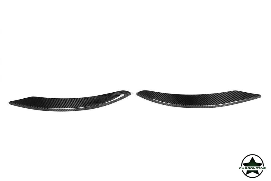 Cstar Carbon Gfk Frontsplitter V2 für Mercedes Benz...