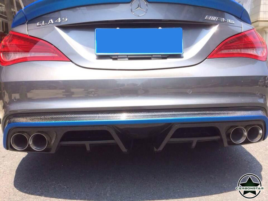 Cstar Carbon Gfk Heckdiffusor Typ P für Mercedes...