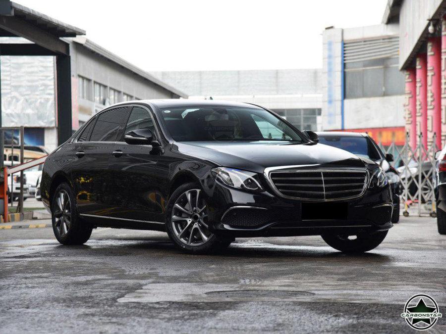Cstar Carbon Gfk Frontlippe B für Mercedes Benz W213 Limousine +AMG