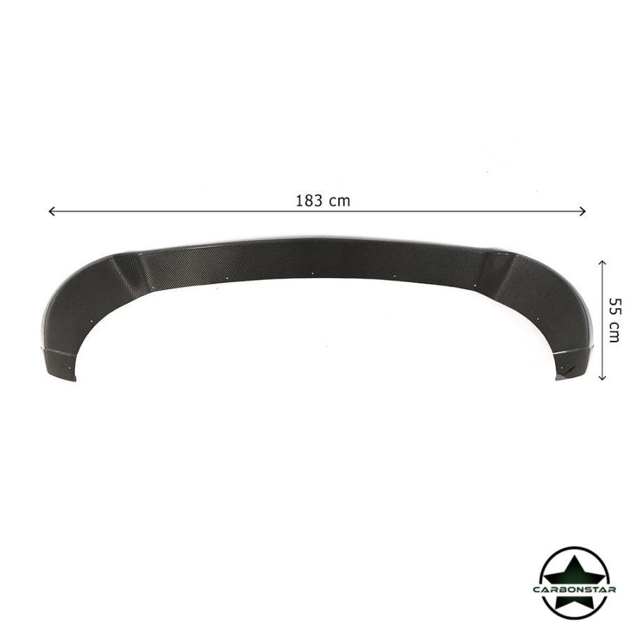 Cstar Carbon Gfk Frontlippe B für Mercedes Benz Vito V Klasse 14-18 Standard Edition W447 V200 V220 V250
