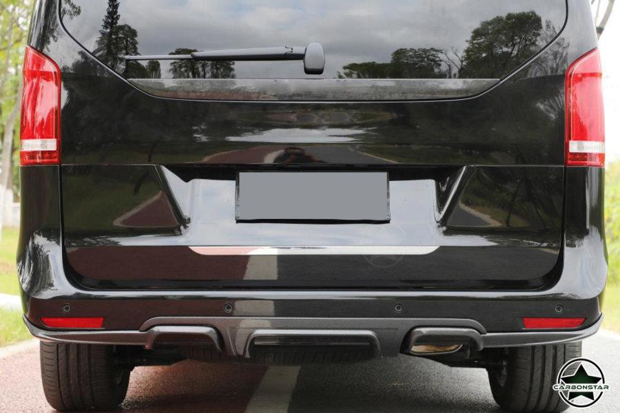 Cstar Carbon Gfk Heckdiffusor 3tlg. für Mercedes Benz Vito V Klasse 14-18 Standard Edition W447 V250