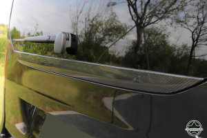 Cstar Carbon Abdeckung Leiste hinten Spoiler für Mercedes Benz Vito V Klasse 14-18 Standard Edition W447  V200 V220 V250