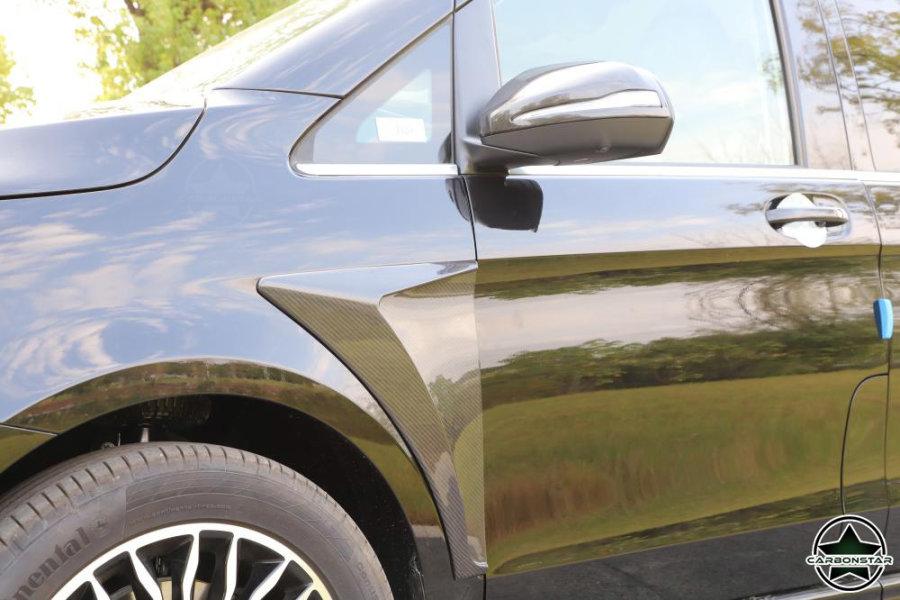 Cstar Carbon Spiegelkappen für Mercedes Benz Vito V...