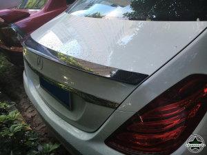 Cstar Carbon Gfk Heckspoiler für Mercedes Benz S Klasse  W222 Limousine + S65