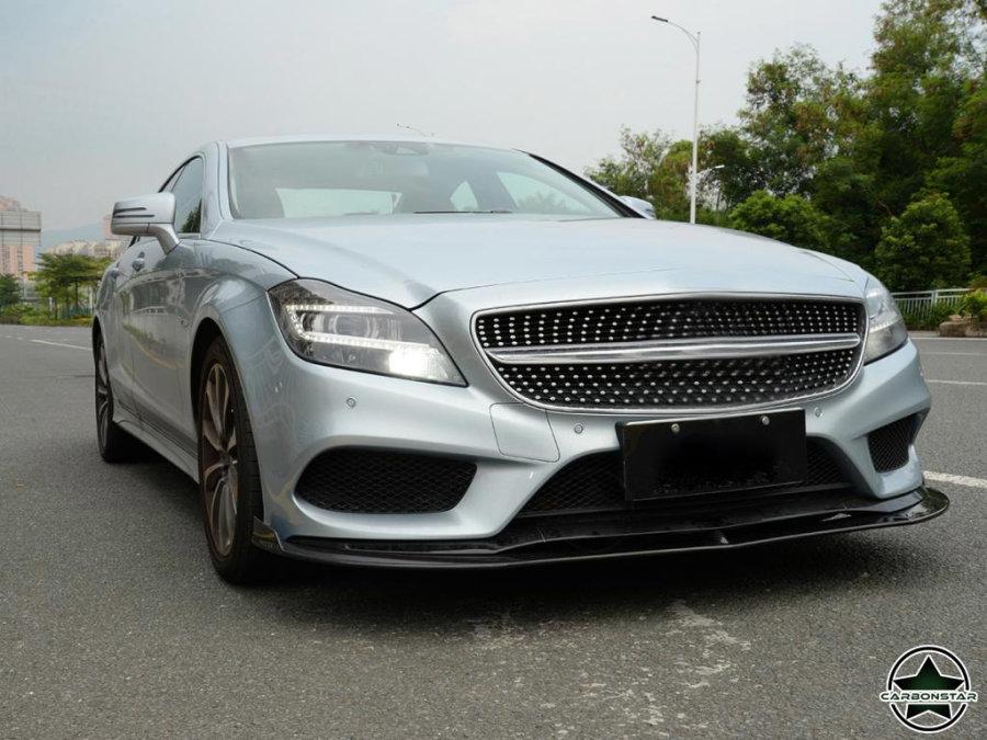 Cstar Carbon Gfk Frontspoilerlippe für Mercedes Benz W218 C218