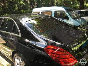 Cstar Carbon Gfk Dachspoiler für Mercedes Benz S Klasse  W222 Limousine + S65