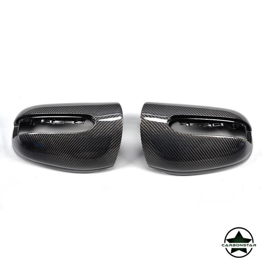 Cstar Carbon ABS Spiegelkappen für Mercedes Benz S...