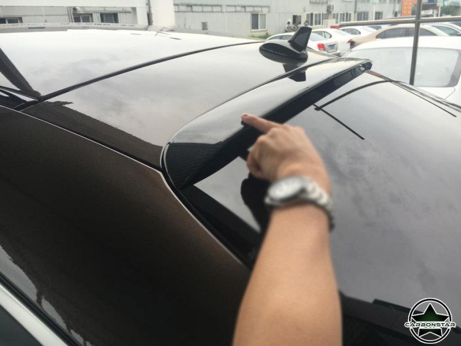 Cstar Carbon Gfk Spoiler Fenster für Mercedes Benz...