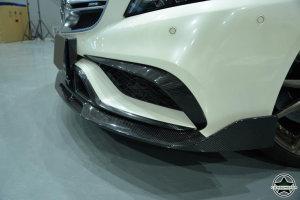 Cstar Carbon Gfk Canards Fins Typ B für Mercedes Benz W218 CLS63 AMG