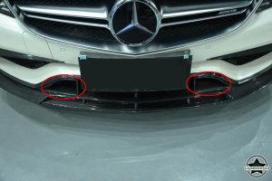 Cstar Carbon Gfk Abdeckung Stoßstange vorne Typ B für Mercedes Benz W218 CLS63 AMG