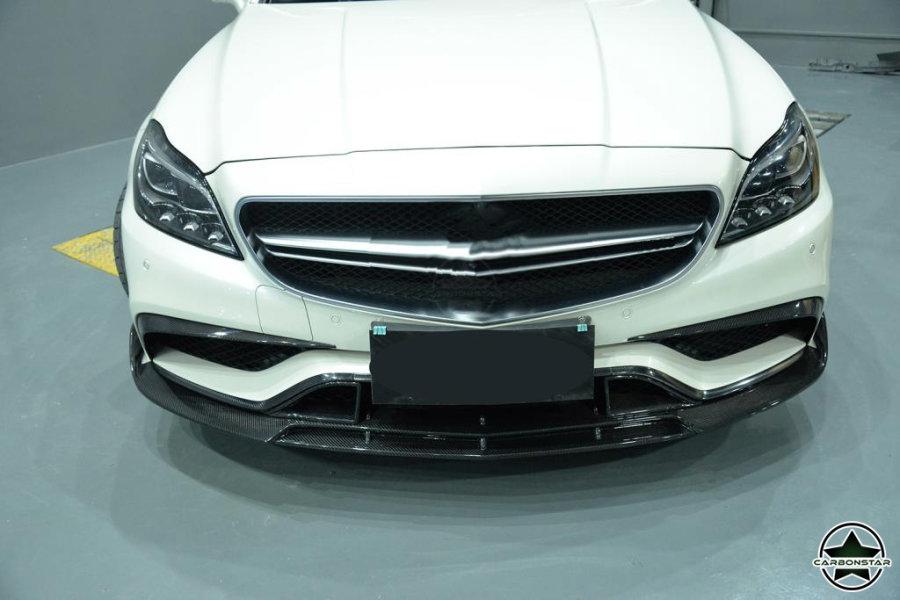 Cstar Carbon Gfk Frontlippe vorne Typ B für Mercedes...