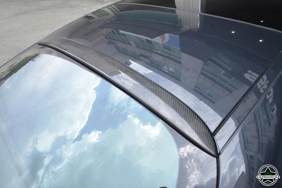 Cstar Carbon Gfk Dachspoiler Spoiler für Mercedes...