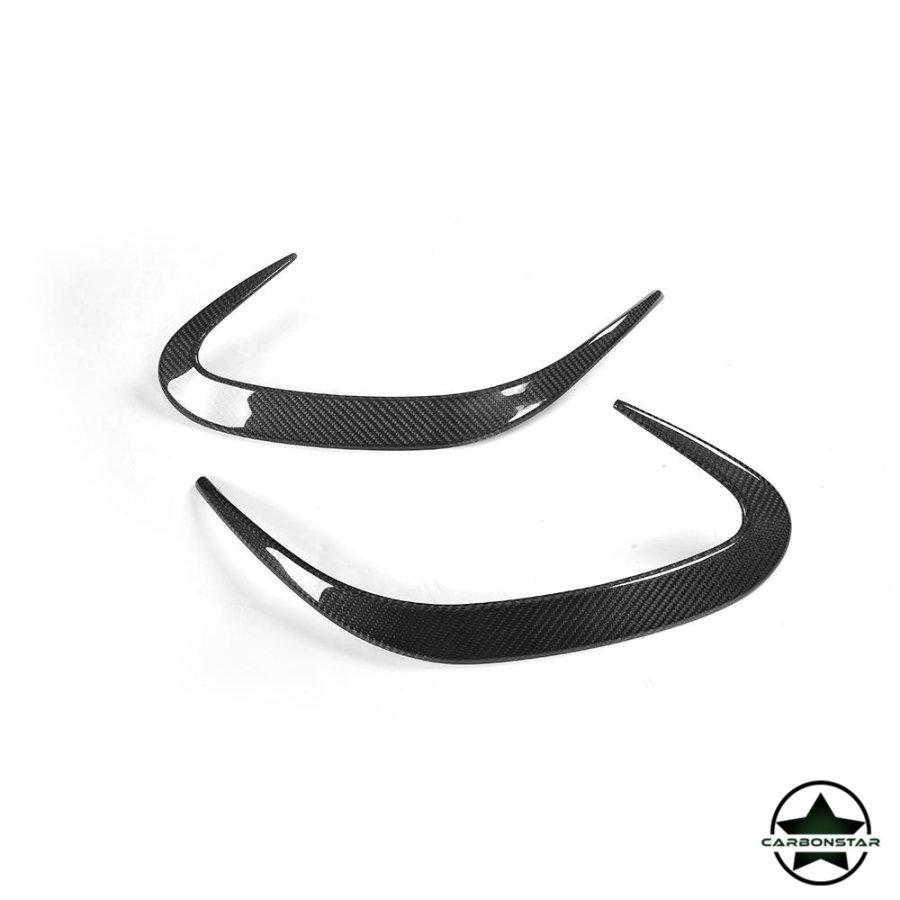 Cstar Carbon Gfk Stoßstange Abdeckung  für Mercedes Benz W222 C217 S500 S550 S63 S65 AMG Coupe