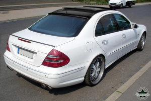Cstar Carbon Gfk Dachspoiler Spoiler für Mercedes Benz W211  E300 E350 E500 E55 E63 AMG Limousine Limo