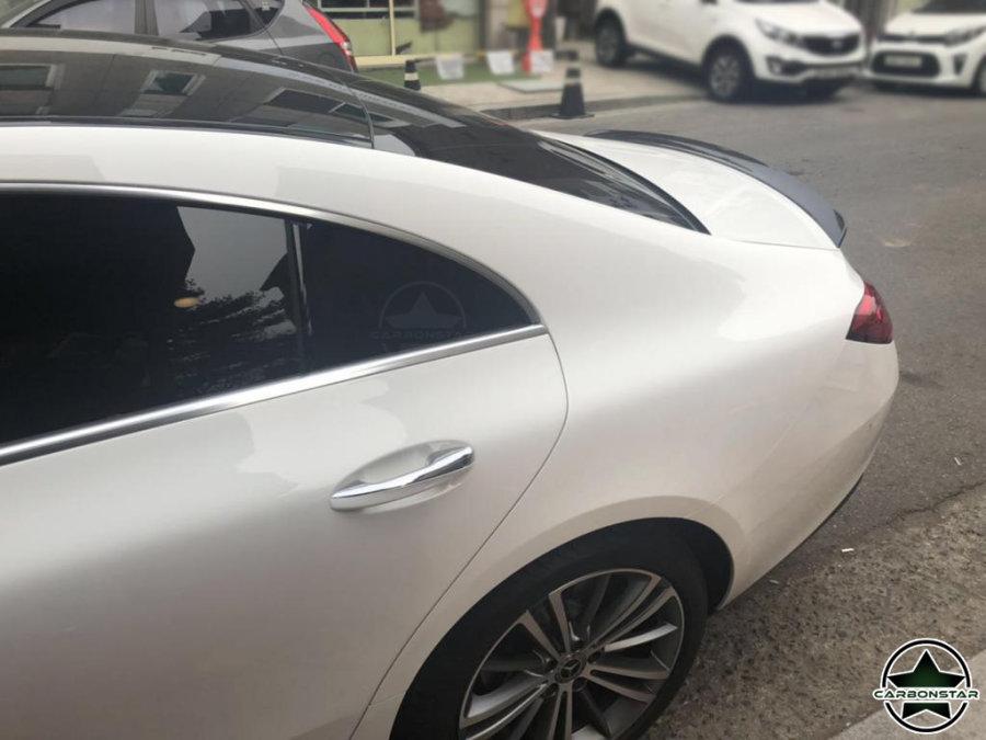 Cstar Carbon Gfk Performance Heckspoiler Spoiler für Mercedes Benz W257 CLS AMG CLS63 4 Türer