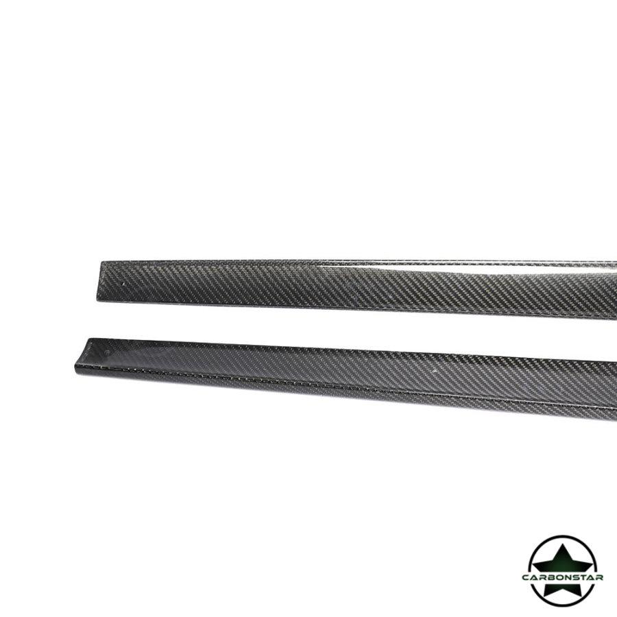 Cstar Carbon Gfk Seitenschweller für Mercedes Benz W213 Coupe AMG Sport