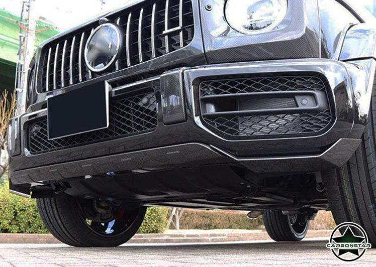 Cstar Carbon Abdeckung unten Stoßstange vorne Guard für Mercedes Benz G Klasse AMG