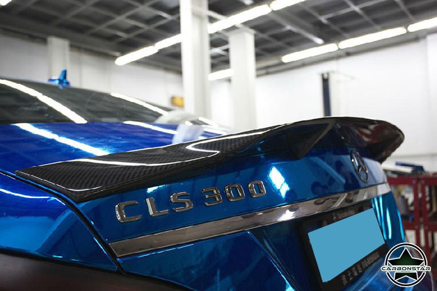 Cstar Carbon Gfk Heckspoiler RT für Mercedes Benz W218 CLS