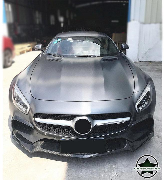 Cstar Carbon Gfk Bodykit Set für Mercedes Benz AMG...