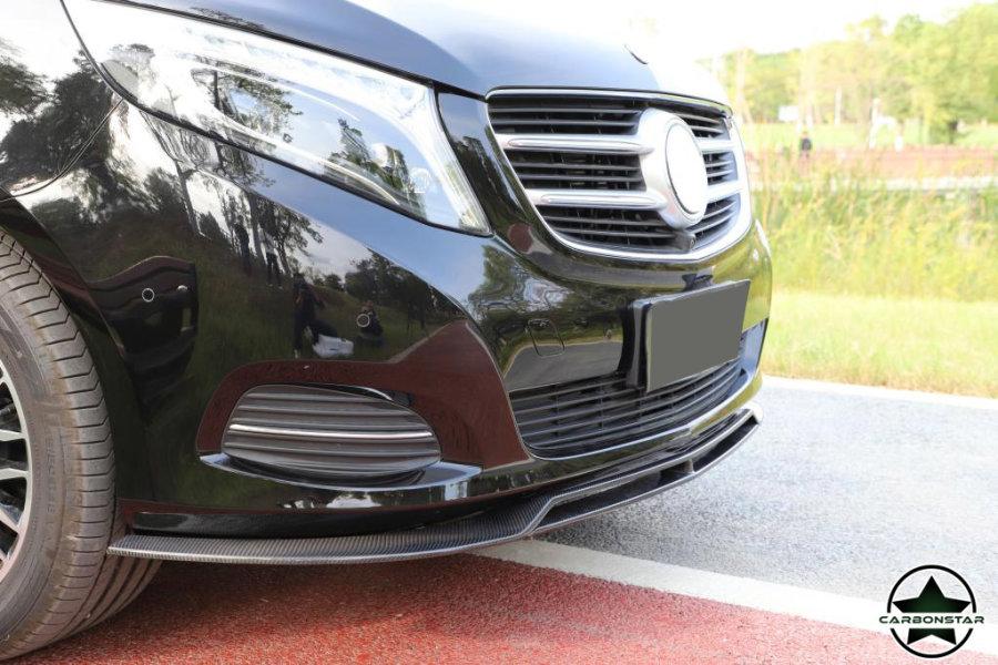 Cstar Carbon Gfk Frontlippe für Mercedes Benz V Klasse