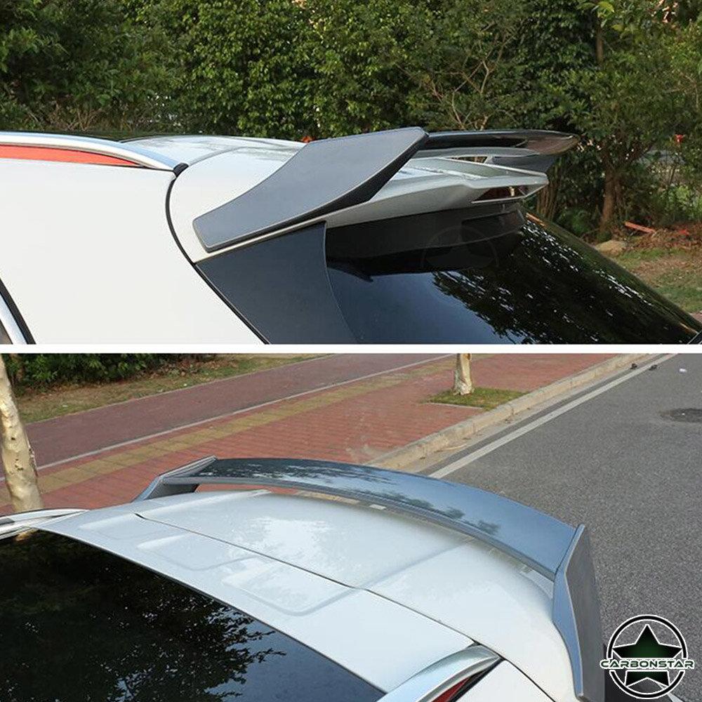 Cstar PP Heckspoiler Hochglanz Silber für Mercedes Benz GLA X156 GLA45 AMG