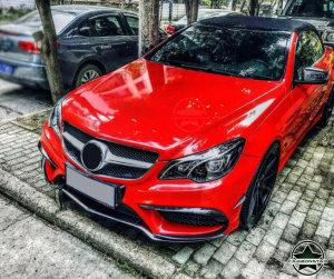 Cstar Carbon Gfk Canards Abdeckung Stoßstange vorne für Mercedes Benz W207 W212 AMG E Klasse