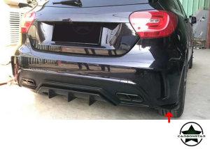 Cstar Carbon Gfk Splitter Erweiterungen Soßstange hinten für Mercedes Benz W176 A180 A200 A250 A45