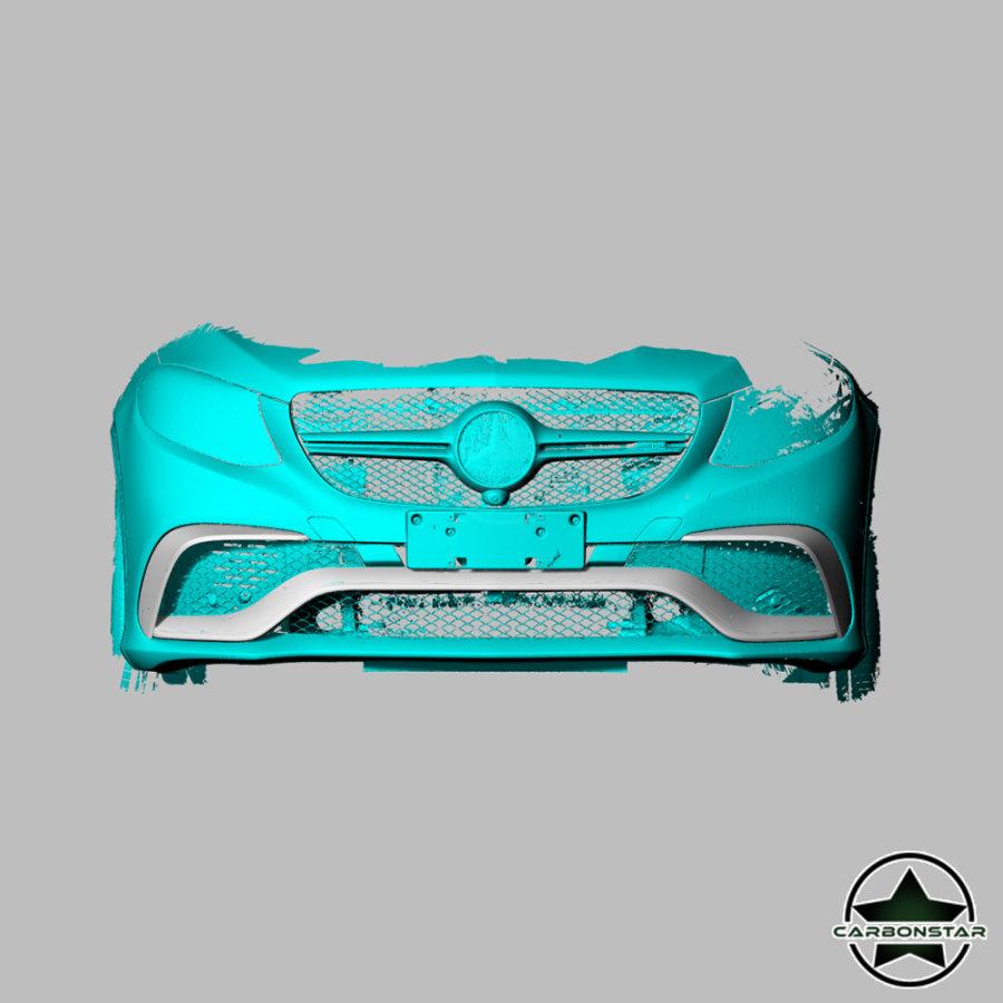 Cstar Carbon Gfk Untere Abdeckung Cover Leisten für Mercedes Benz GLE GLE63 AMG Sport