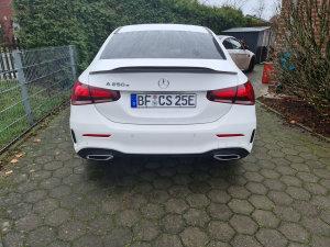 doppelt - Cstar Carbon Gfk Heckspoiler High Kick für Mercedes Benz W177 V177 Limo Limousine auch AMG