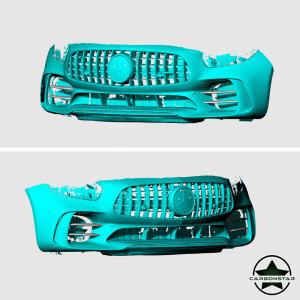 Cstar Carbon Gfk Abdeckung Cover Lufteinlass vorne für Mercedes Benz AMG GT GTR