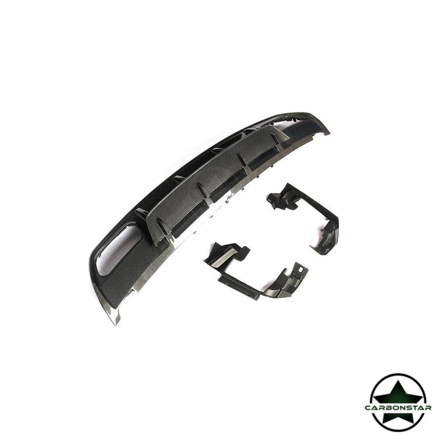 Cstar Carbon Gfk Heckdiffusor Diffusor für Mercedes Benz W176 A45 AMG Sport Paket