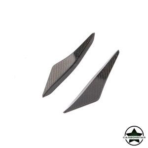 Cstar Carbon Gfk Splitter Fins Canards Stoßstange vorne für Mercedes Benz SLS AMG