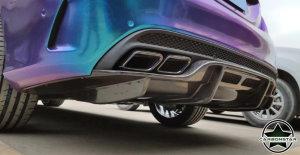 Cstar Carbon Gfk Heckdiffusor Diffusor PSM für Mercdes Benz W205 Limo AMG Sport auch C63