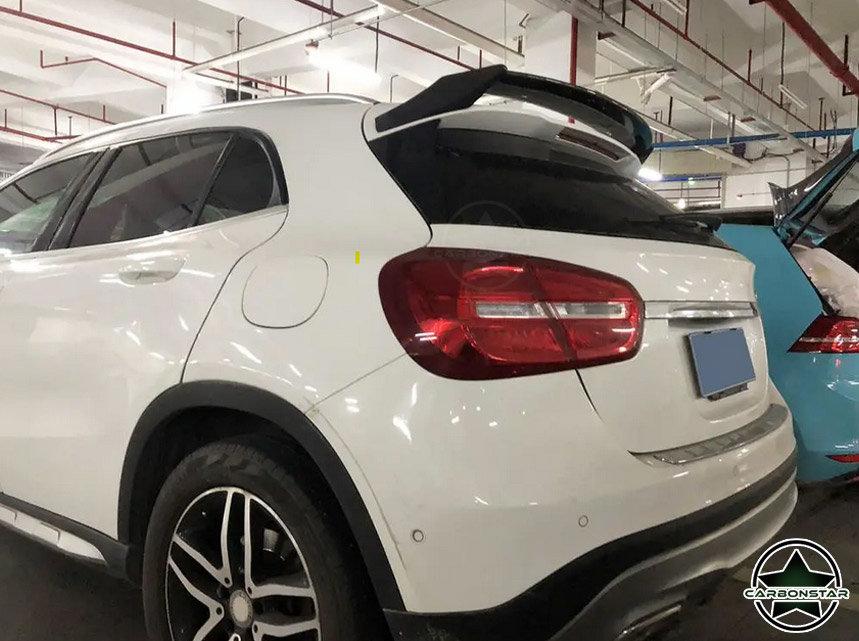 Cstar Carbon Gfk Heckflügel Flügel für Mercedes Benz GLA X156 GLA45 GLA200 GLA250