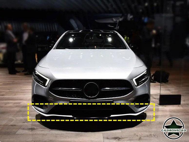 Cstar Carbon Gfk Frontlippe für Mercedes Benz W177...