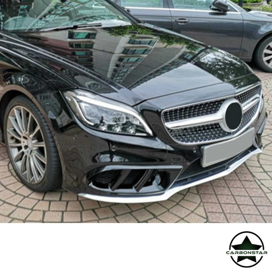Cstar Carbon Gfk Lufteinlass Abdeckung für Mercedes Benz CLS W218 CLS550