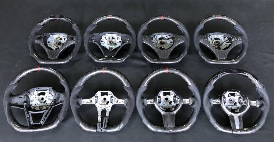 Cstar Carbon Alcantara Leder Lenkrad Performance Display...