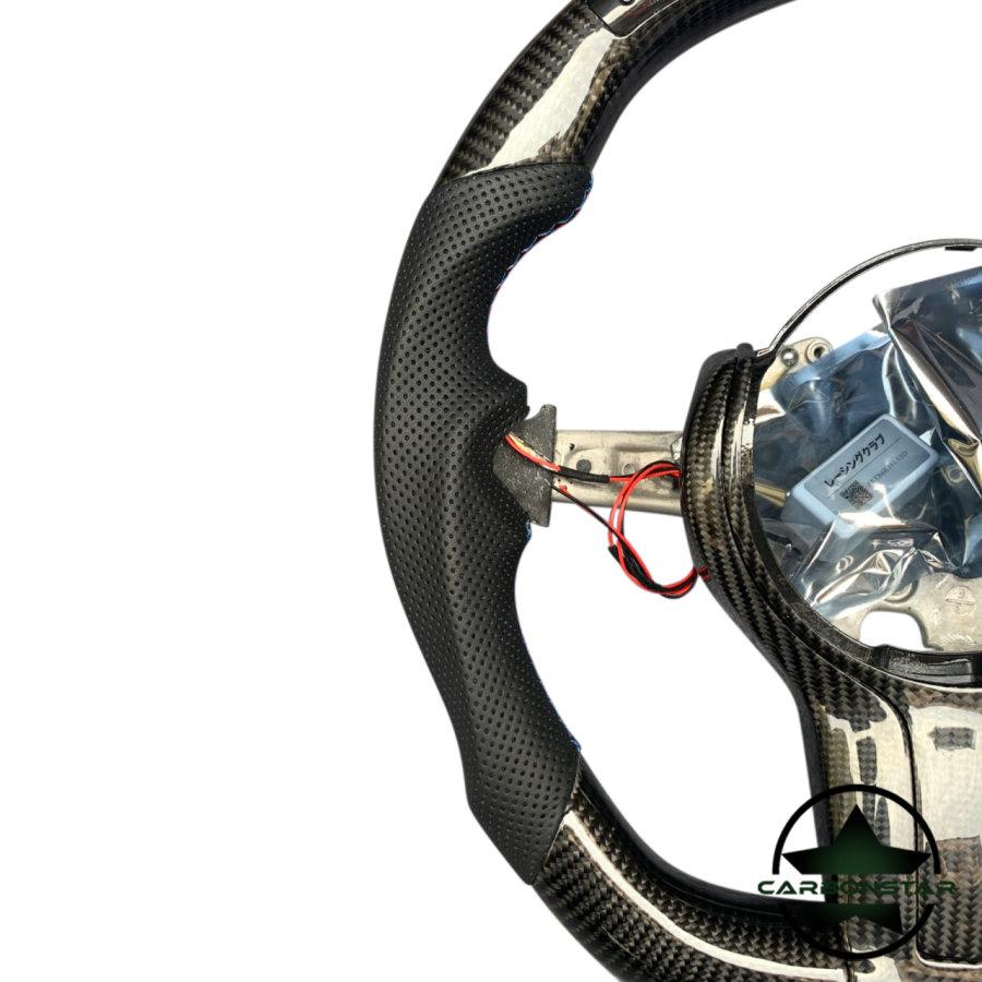 Cstar Carbon Lenkrad abgeflacht Performance Display passend für BMW M2 F87 M3 F80 M4 F82 F83 F20 F21 F22 F23 F45 F46 F30 F31 F34 F35 F32 F33 F36 F48 Competition