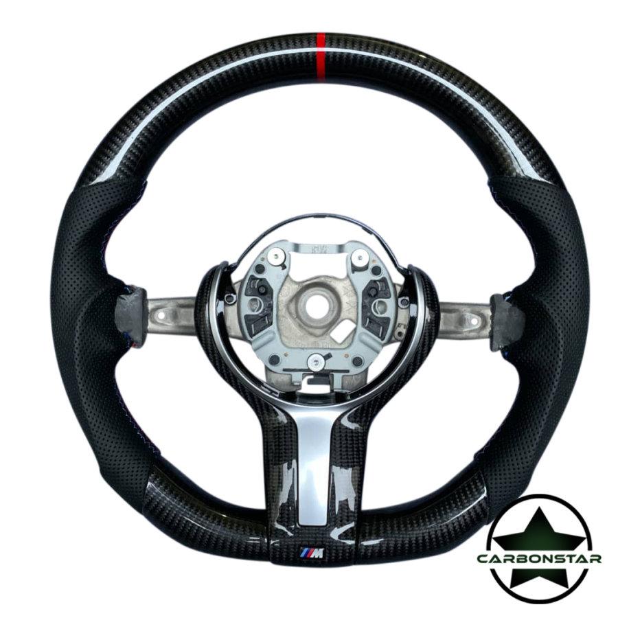 Cstar Carbon Lenkrad abgeflacht  passend für BMW M2...