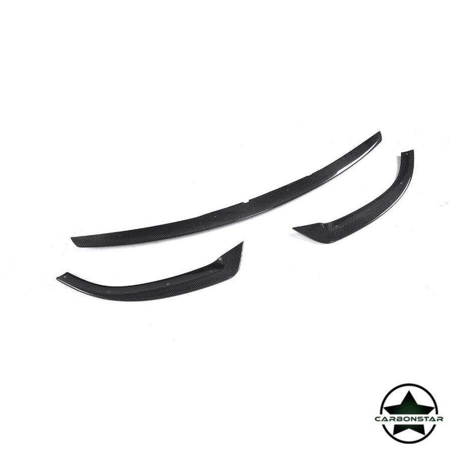 Cstar Carbon Gfk Frontlippe für Mercedes Benz W213 Coupe Cabrio +AMG Sport Stoßstange