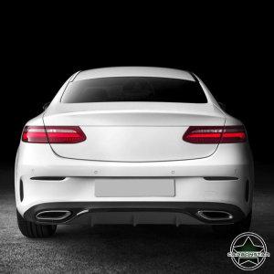 Cstar Carbon Gfk Diffusor für Mercedes Benz W213 E43 C238 E200 AMG Sport Stoßstange